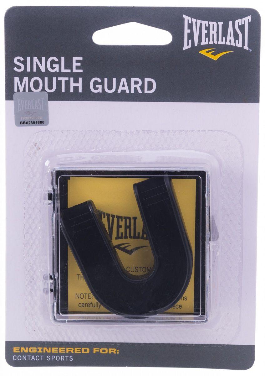 Капа Everlast Single 4405BE, 1 челюстная, черная,