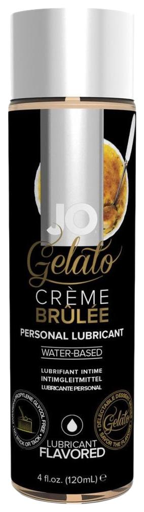 Купить Гель-смазка JO gelato крем брюле на водной основе вкусовой 120 мл, System JO