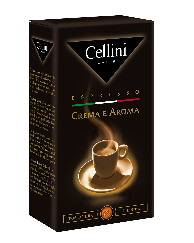 Кофе молотый  Cellini crema e aroma 250 г