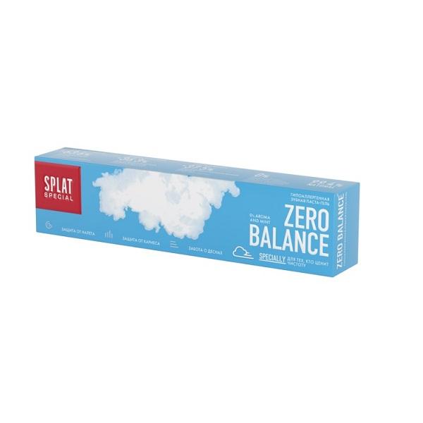 Зубная паста SPLAT Special Зеро баланс 75 мл