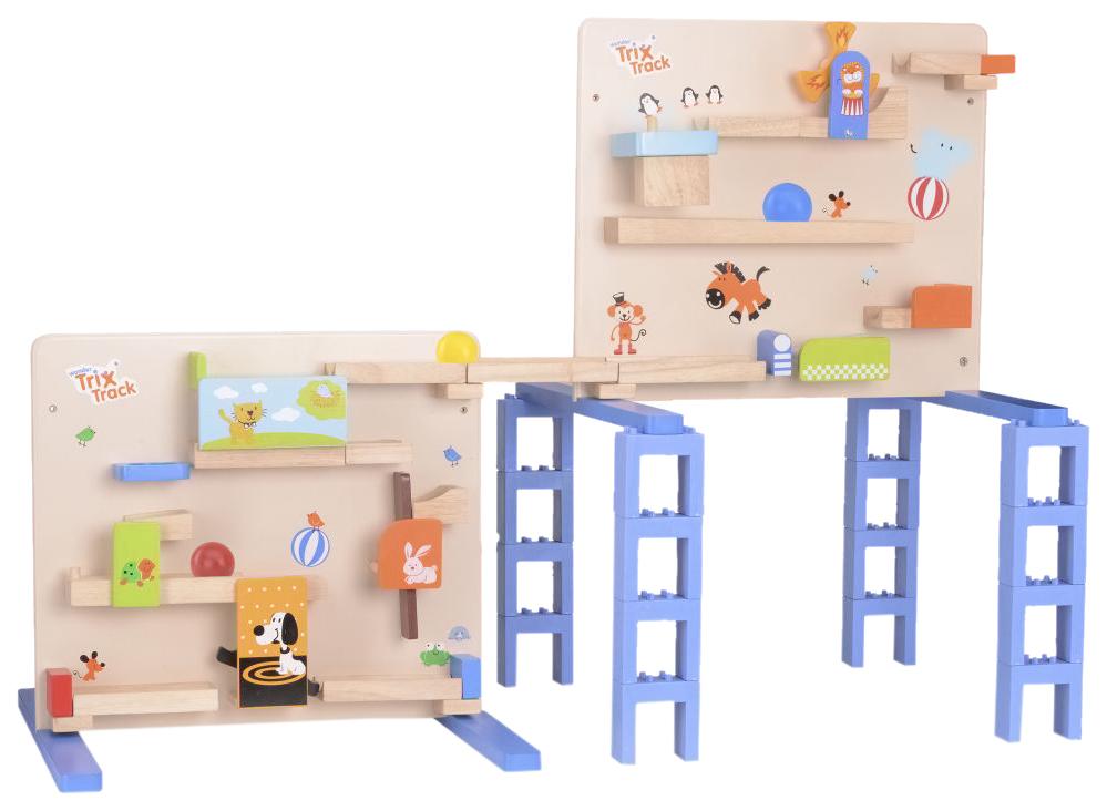 Купить Деревянная игрушка Wonderworld Тrix-Тrack Трек для малышей с мельницей, Развивающие игрушки