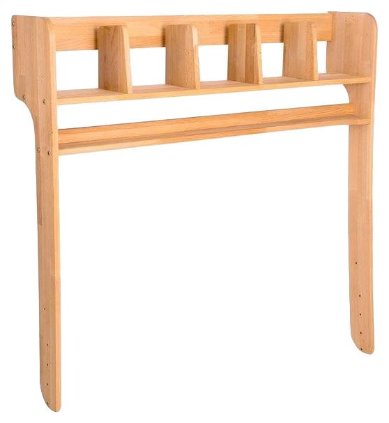 Надстройка Абсолют-мебель С212 для парты Школярик С412 Бук