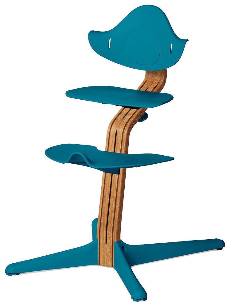 Детский регулируемый стул Evomove NOMI океан, дуб