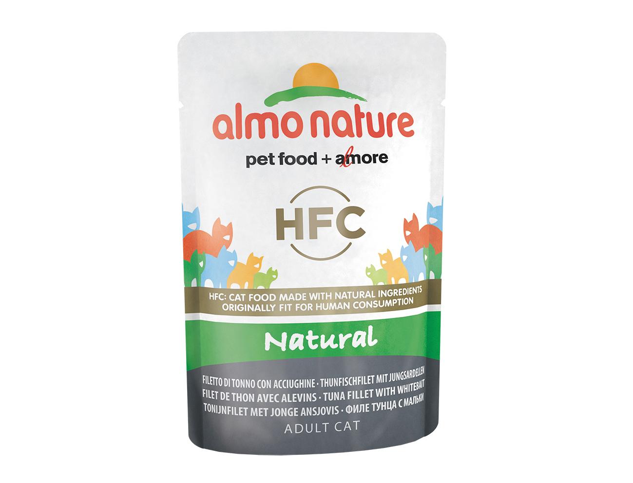 Влажный корм для кошек Almo Nature