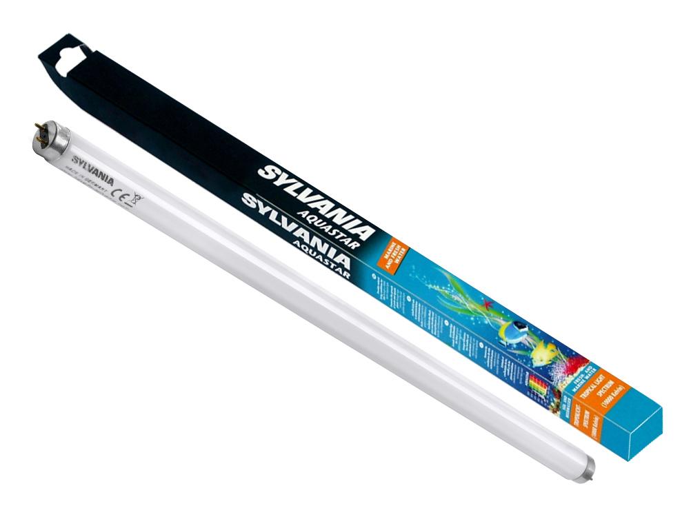 Люминесцентная лампа для аквариума Sylvania Aquastar 18 Вт цоколь G13 60 см.