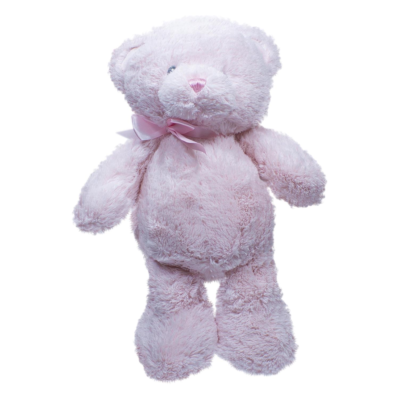 Мишка мягкая игрушка розовый