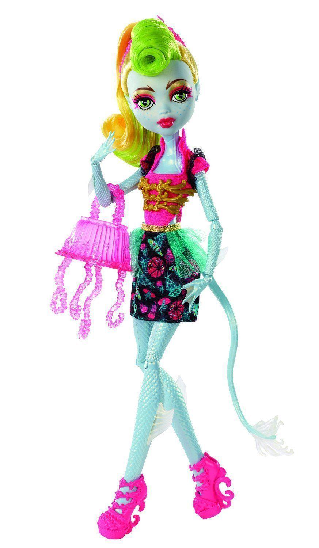 Купить Кукла Monster High Лагунафаер - Монстрические мутации BJR37, Куклы Monster High