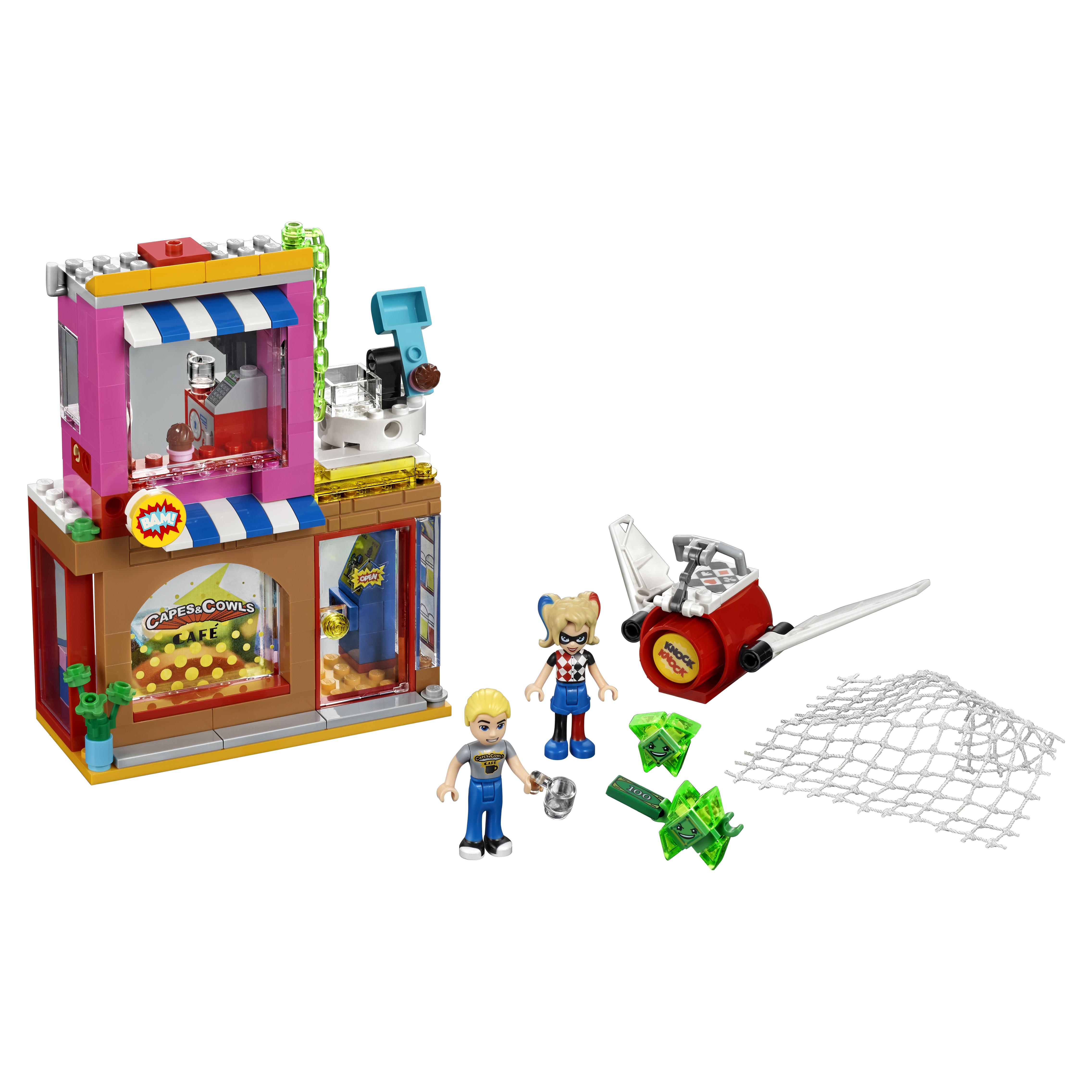 Купить Конструктор LEGO DC Super Hero Girls Харли Квинн спешит на помощь (41231), LEGO Super Heroes