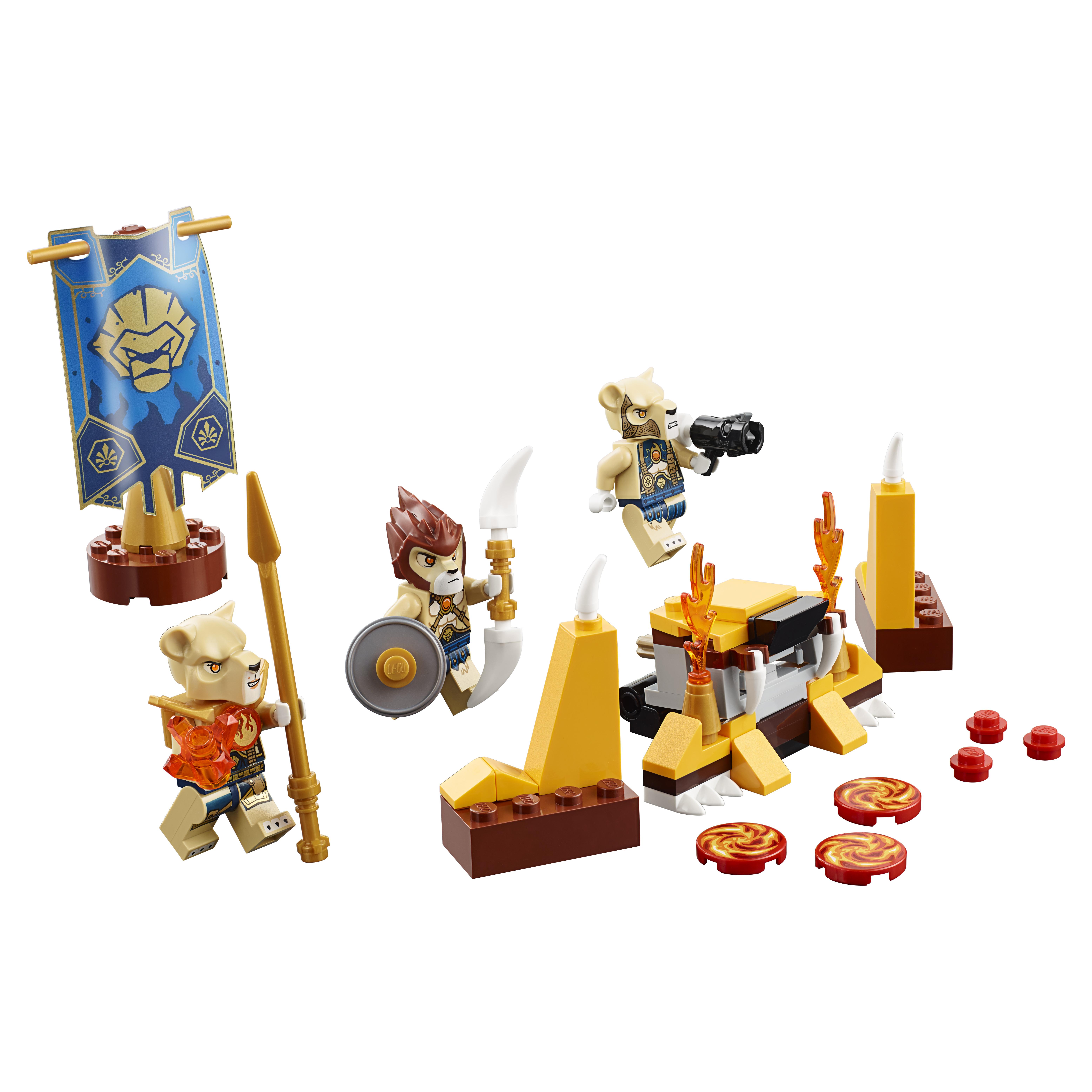 Конструктор LEGO Chima Лагерь Клана львов (70229) фото