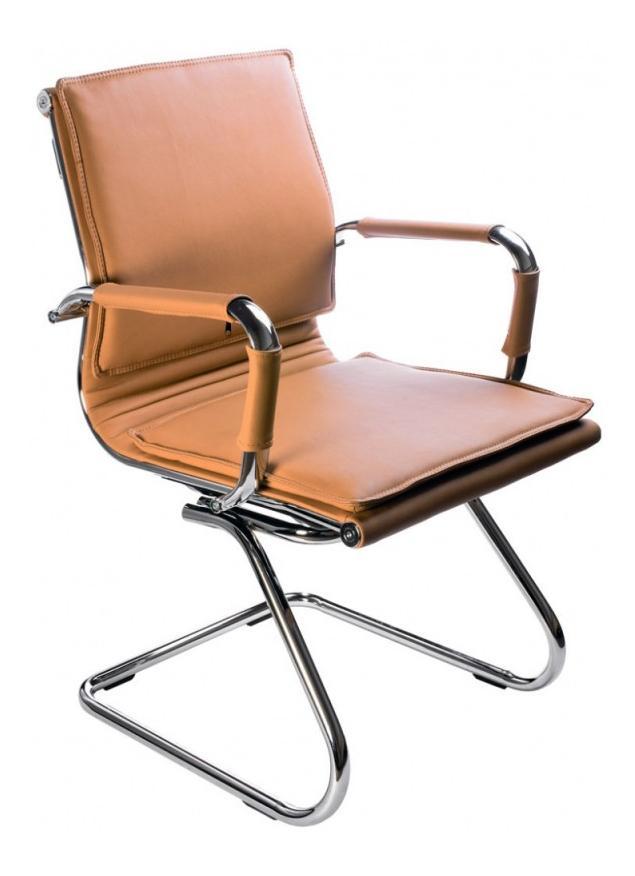 Офисный стул Бюрократ CH-993-LOW-V/CAMEL, коричневый