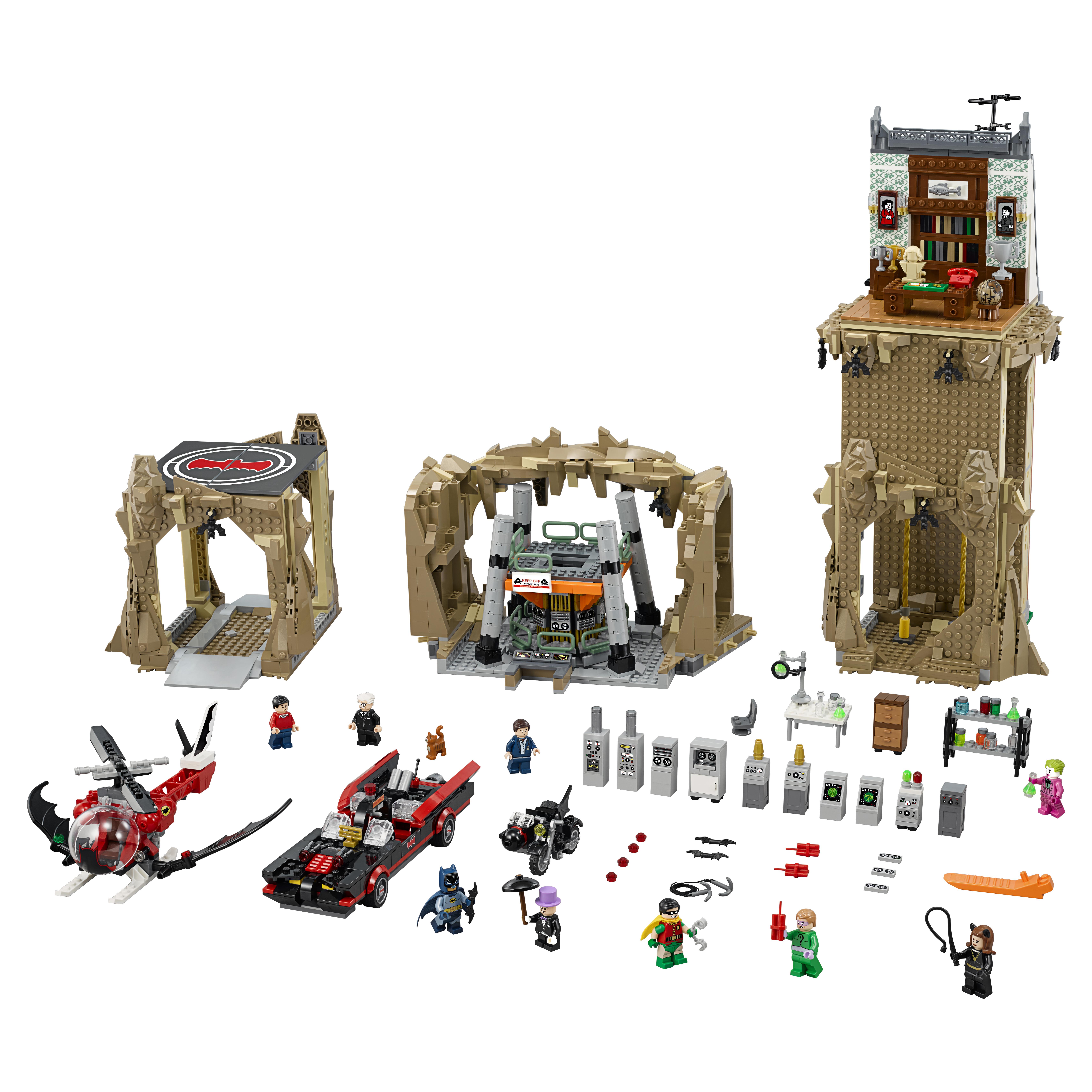 Конструктор LEGO Super Heroes Бэтпещера (76052)