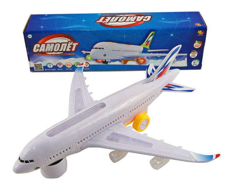 Самолет ABtoys с электромеханическими, световыми и звуковыми