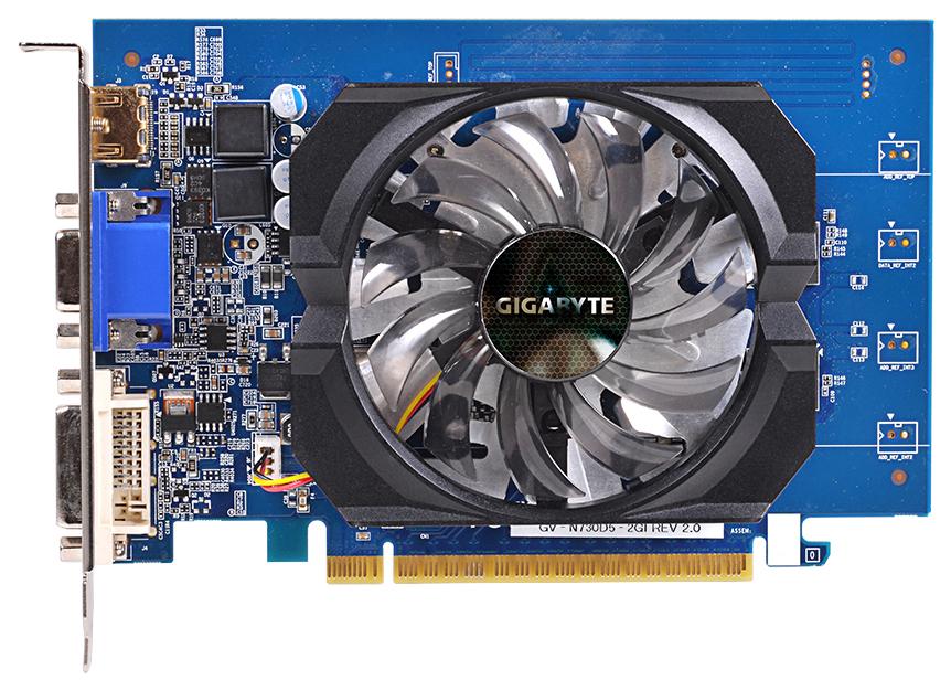 Видеокарта GIGABYTE nVidia GeForce GT 730