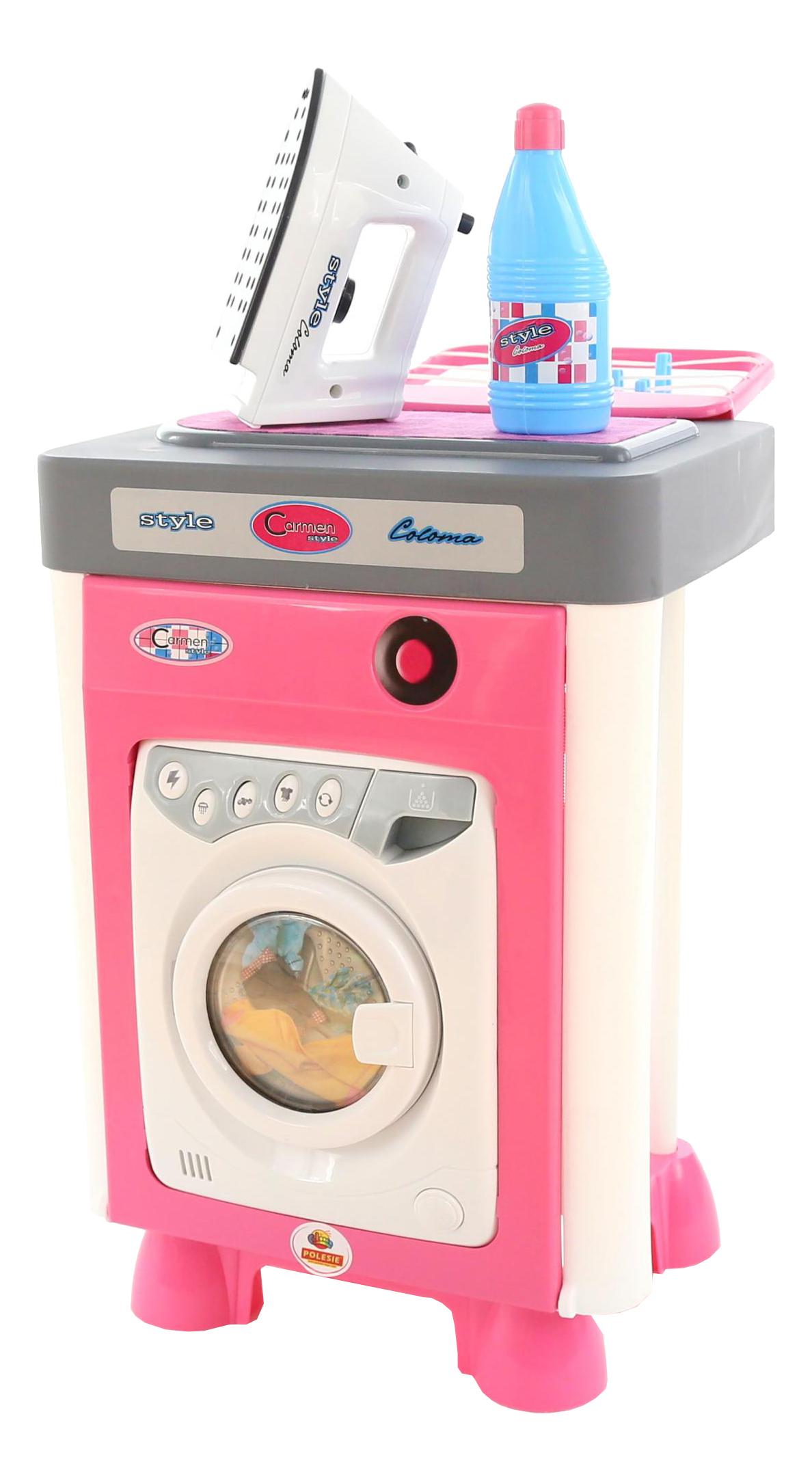 Набор Полесье Carmen со стиральной машиной
