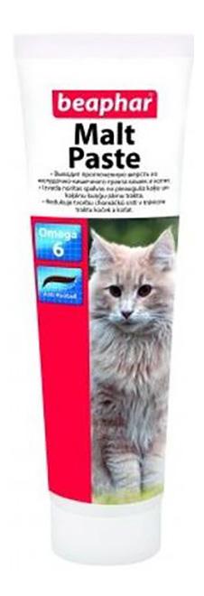 Паста для выведения шерсти для кошек Beaphar