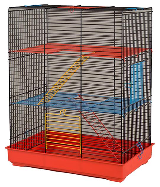 Клетка для крыс INTER ZOO 54х28х43см