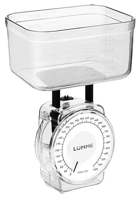 Весы кухонные LUMME LU 1301 White Pearl