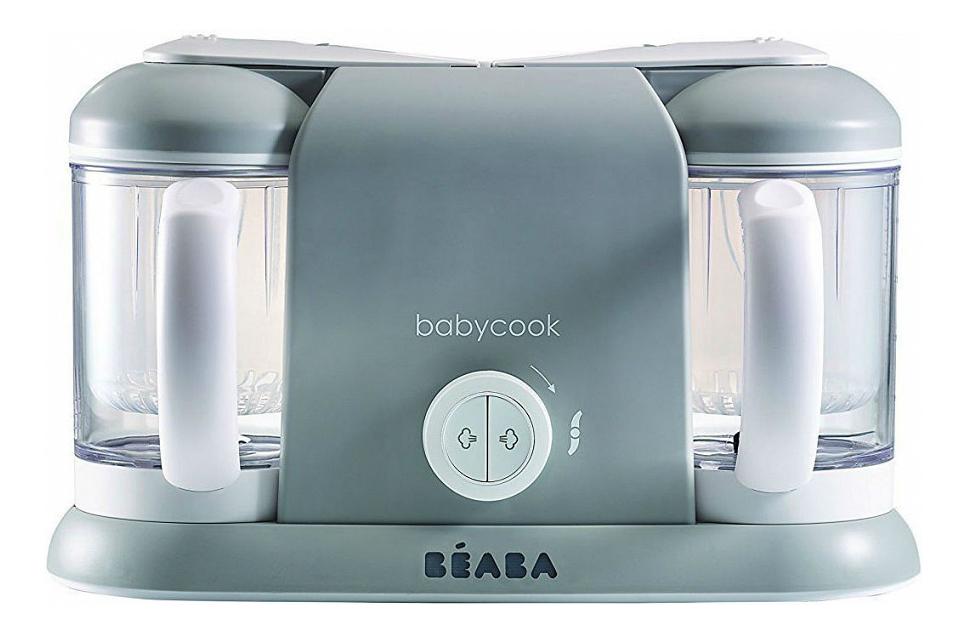 Блендер пароварка Beaba Babycook Plus grey