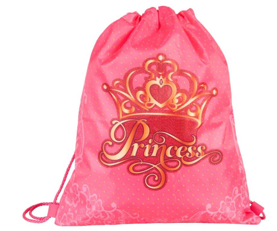 """Сумка для детской сменной обуви """"Принцесса"""""""