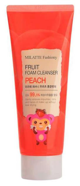 Средство для умывания MILATTE Fashiony Fruit Foam Cleanser