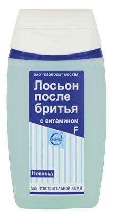 Купить Лосьон после бритья SVOBODA для чувствительной кожи с витамином F 150 мл, Свобода