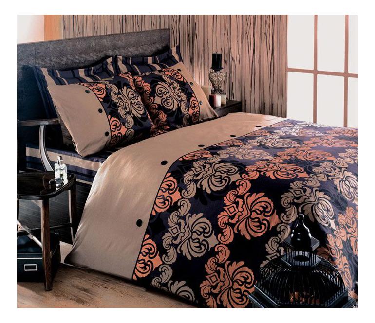 Комплект постельного белья Tete-a-tete premium sateen евро Т-0037 фото