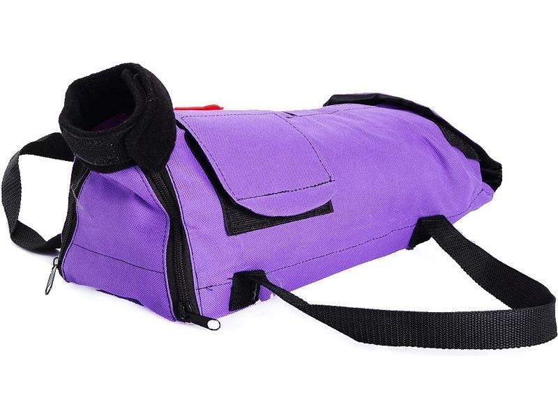 Сумка переноска OSSO 14x37x13см фиолетовый