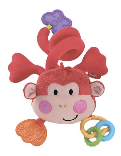 Купить Подвесная игрушка Fisher Price Обезьянка , Fisher-Price, Подвесные игрушки