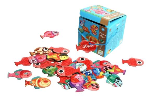 Купить Семейная настольная игра Djeco Рыбки, Семейные настольные игры