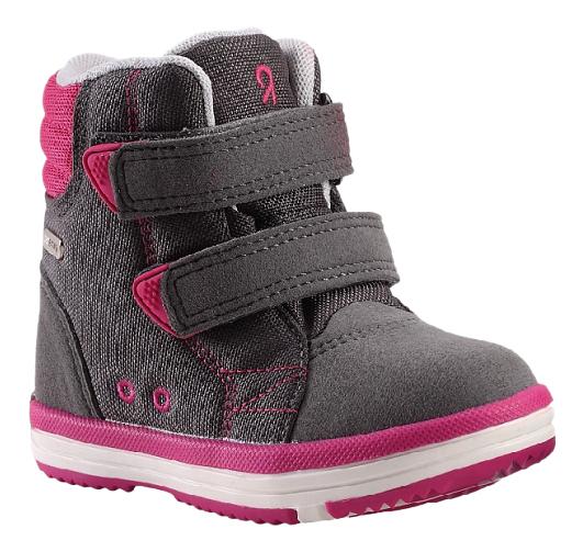 Купить Ботинки Reima Reimatec Patter серые р.20, Детские ботинки