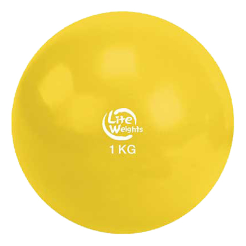 Медицинбол Lite Weights 1 кг 1701LW