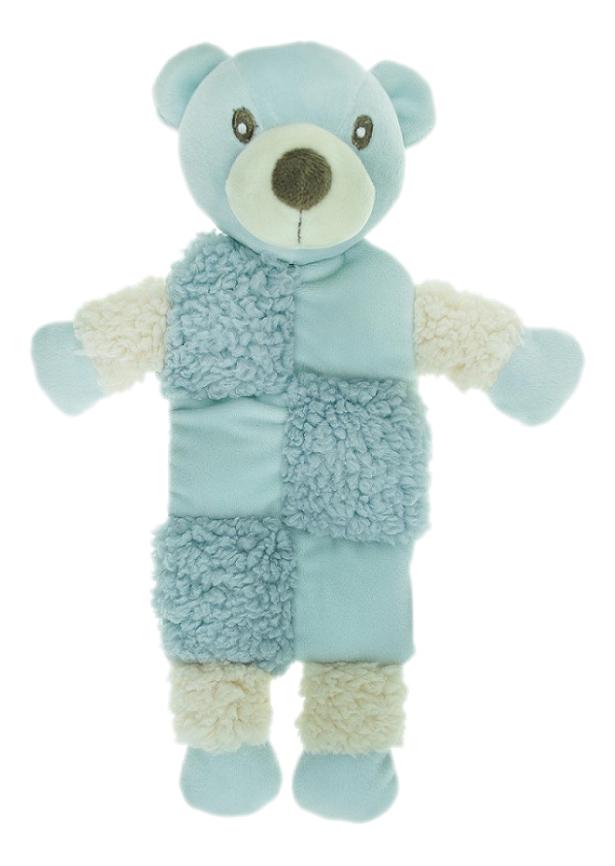 Мягкая игрушка для собак Aromadog Мишка, голубой, длина 20 см фото