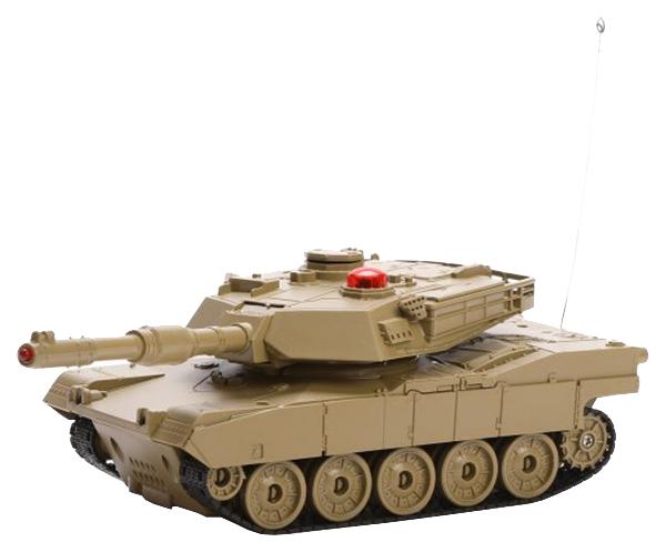 Купить Радиоуправляемый танк Пламенный мотор Военная техника Abrams М1А2 свет звук 1:32, Радиоуправляемые танки