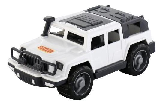 Купить Машинка Полесье Джип Патрульный защитник черно-белый, Игрушечные машинки