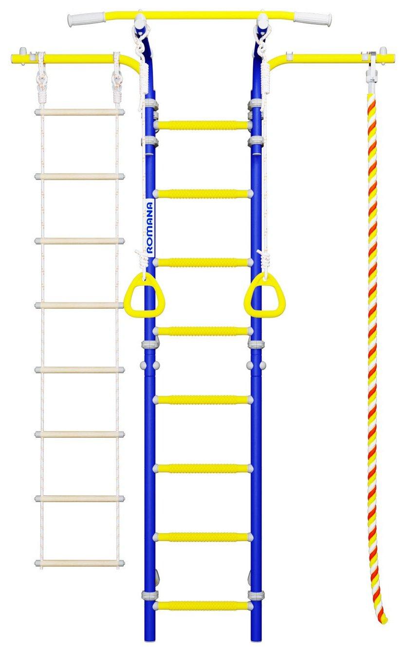Спортивный комплекс Romana Karusel S5 ДСКМ-2С-8.06.Т2.410.18-14 синяя слива