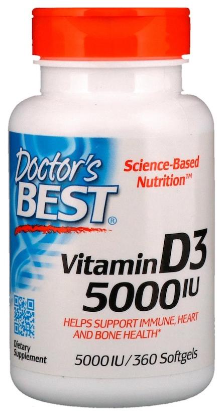 Витамин D Doctor's Best Best Vitamin