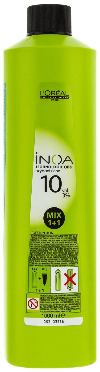 Проявитель L'Oreal Professionnel Inoa ODS2 3% 10 vol 1000 мл фото