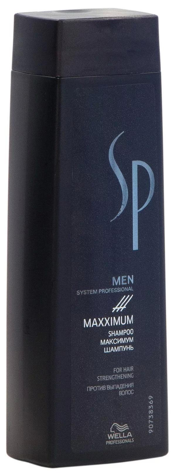 WELLA SP SP MEN MAXIMUM SHAMPOO