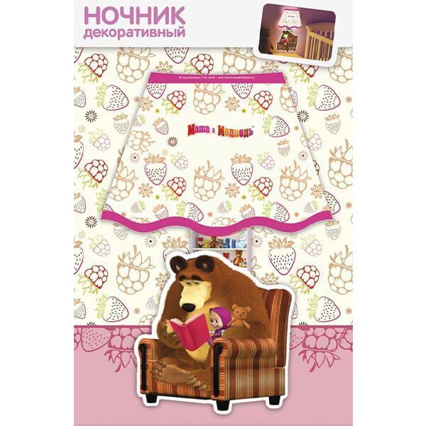 Ночник декоративный маша и медведь маша и чтение фотон 22963