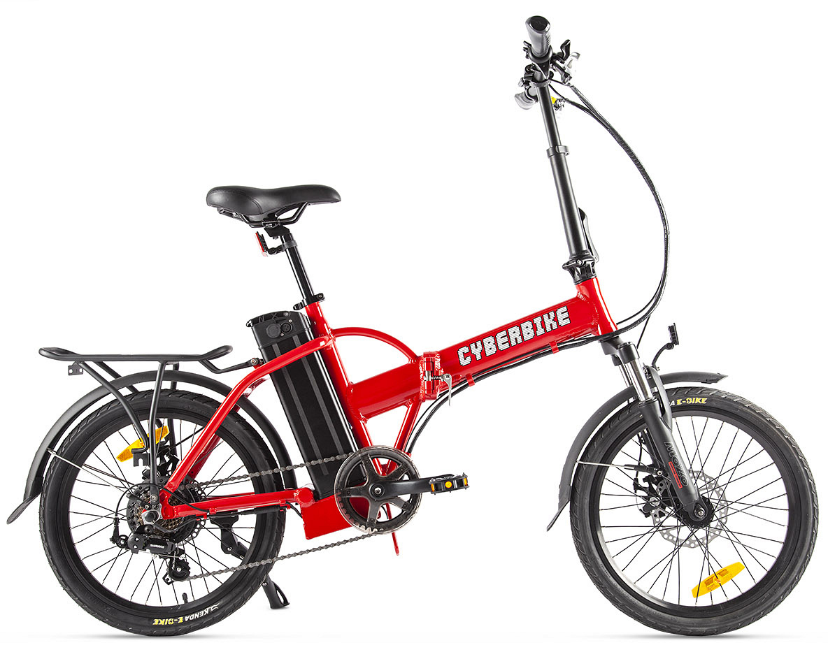 "Электровелосипед Cyberbike Line 2019 18"" красный"
