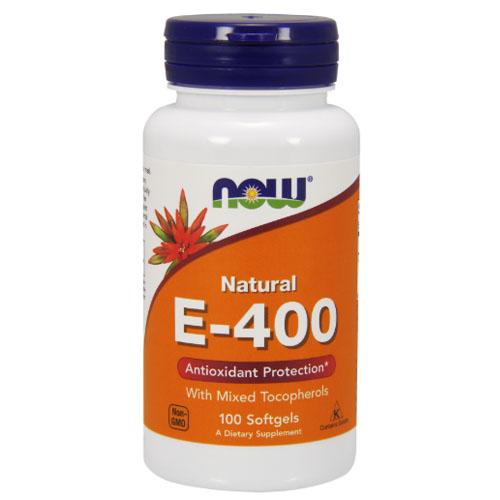 Витамин E NOW Sports E 400 Mixed