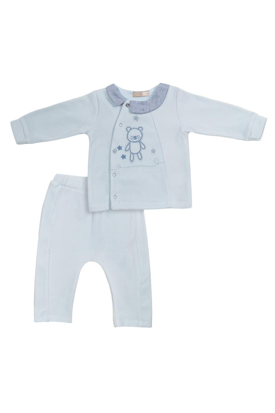 Купить МЛ373402, Комплект одежды RBC, цв. голубой р.68,