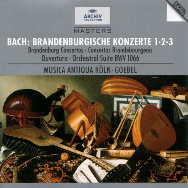 Аудио диск Goebel, Reinhard Musica Antiqua Koeln Bach: Brandenburg Concertos Nos.1, 2 #and# 3