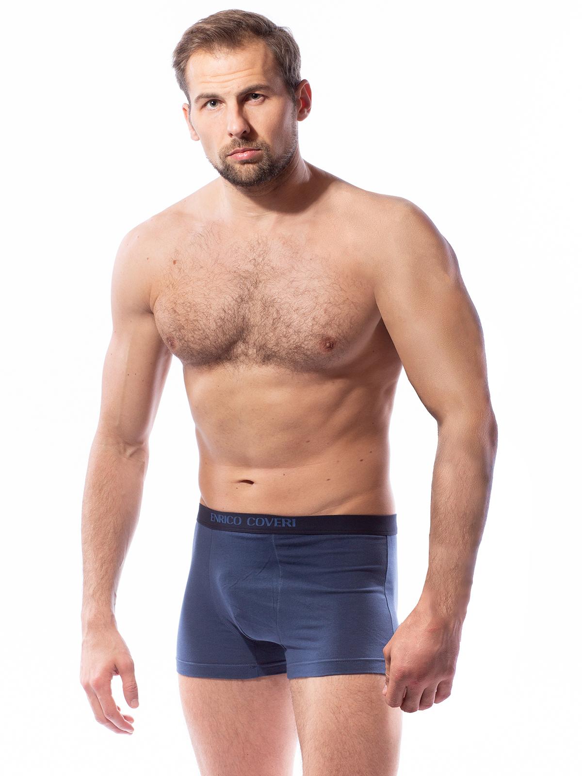 Трусы мужские мужские Enrico Coveri голубые L