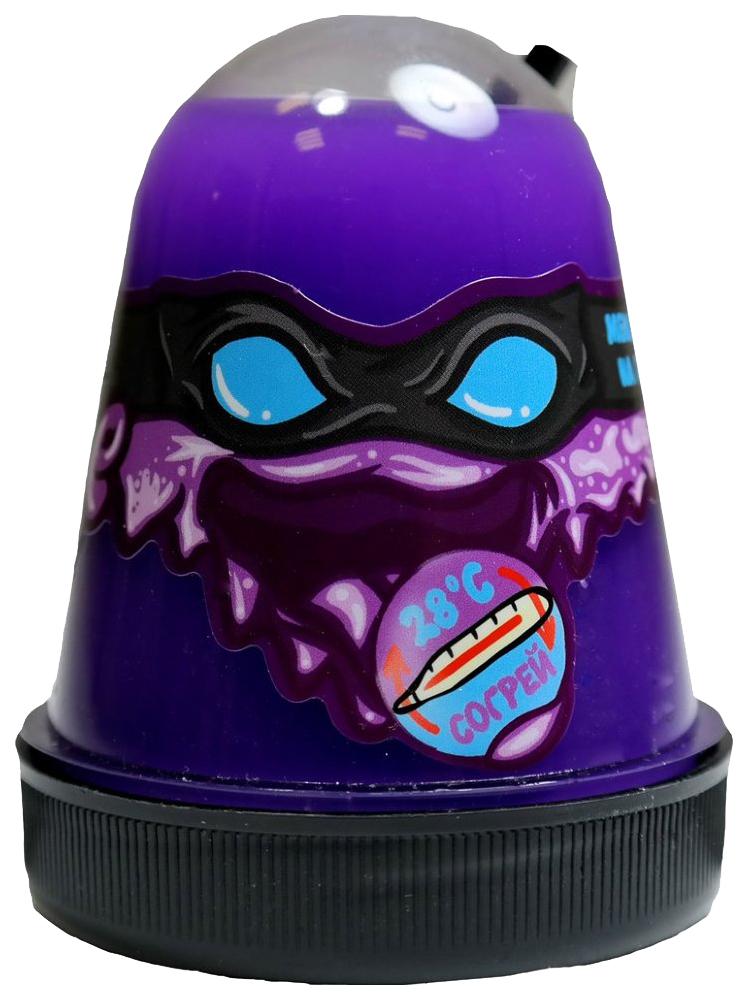 Купить Лизун Ninja Slime, меняет цвет на голубой, 130 гр. Волшебный мир,