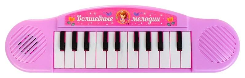 Купить Синтезатор Волшебные мелодии , Принцессы, 7 мелодий Disney, Детские музыкальные инструменты