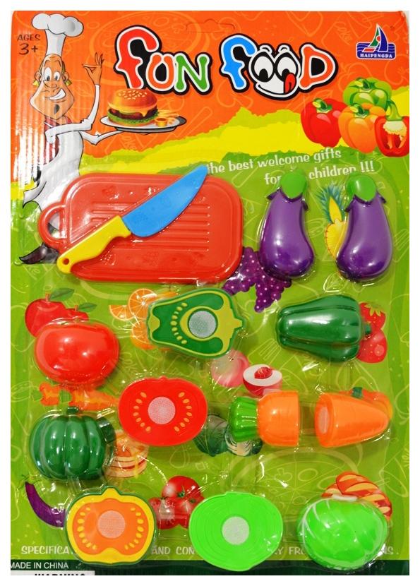 Набор игрушечной еды Shantou Gepai овощи