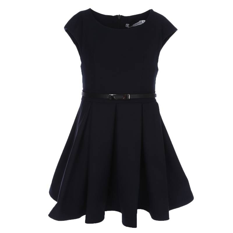 Платье Nota Bene, цв. темно-синий, 122 р-р 18122040129
