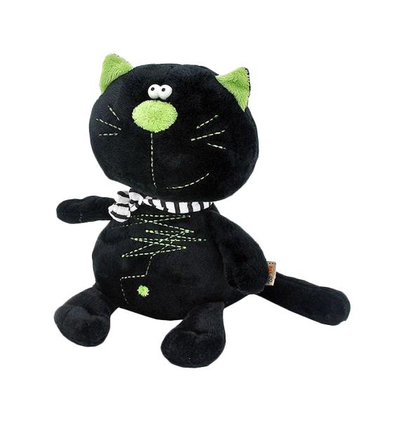 Купить Мягкая игрушка «Кот Батон», цвет чёрный, 30 см Orange, Orange Toys, Мягкие игрушки животные