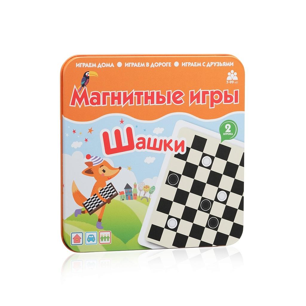 Магнитная игра БУМБАРАМ IM 1007 Шашки
